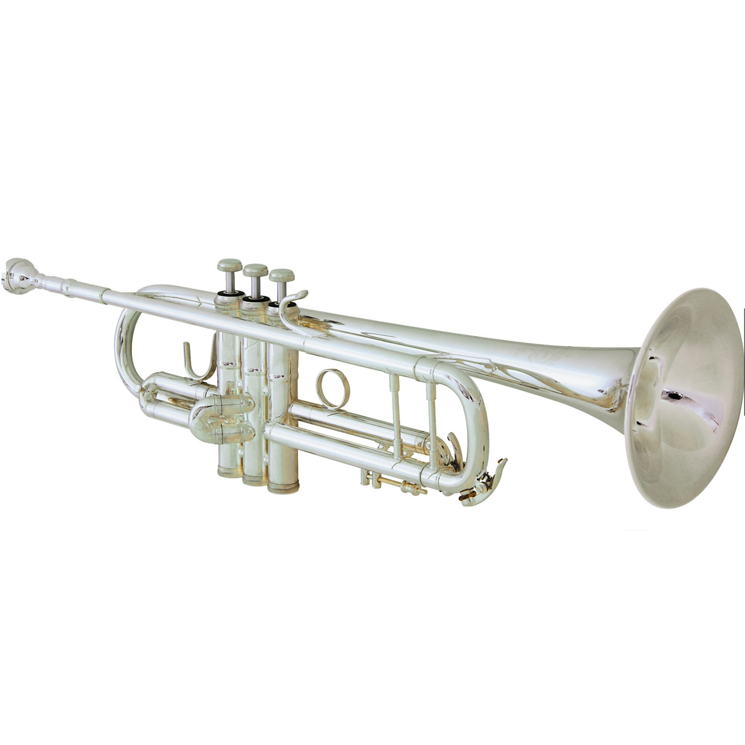 """B&S """"Challenger I"""" Professional Bb Trumpet - Silver Plating - $100.00 Instant Rebate"""