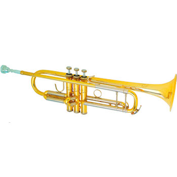"""B&S """"Challenger II"""" Professional Bb Trumpet - #37 Bell - Lacquer Finish"""