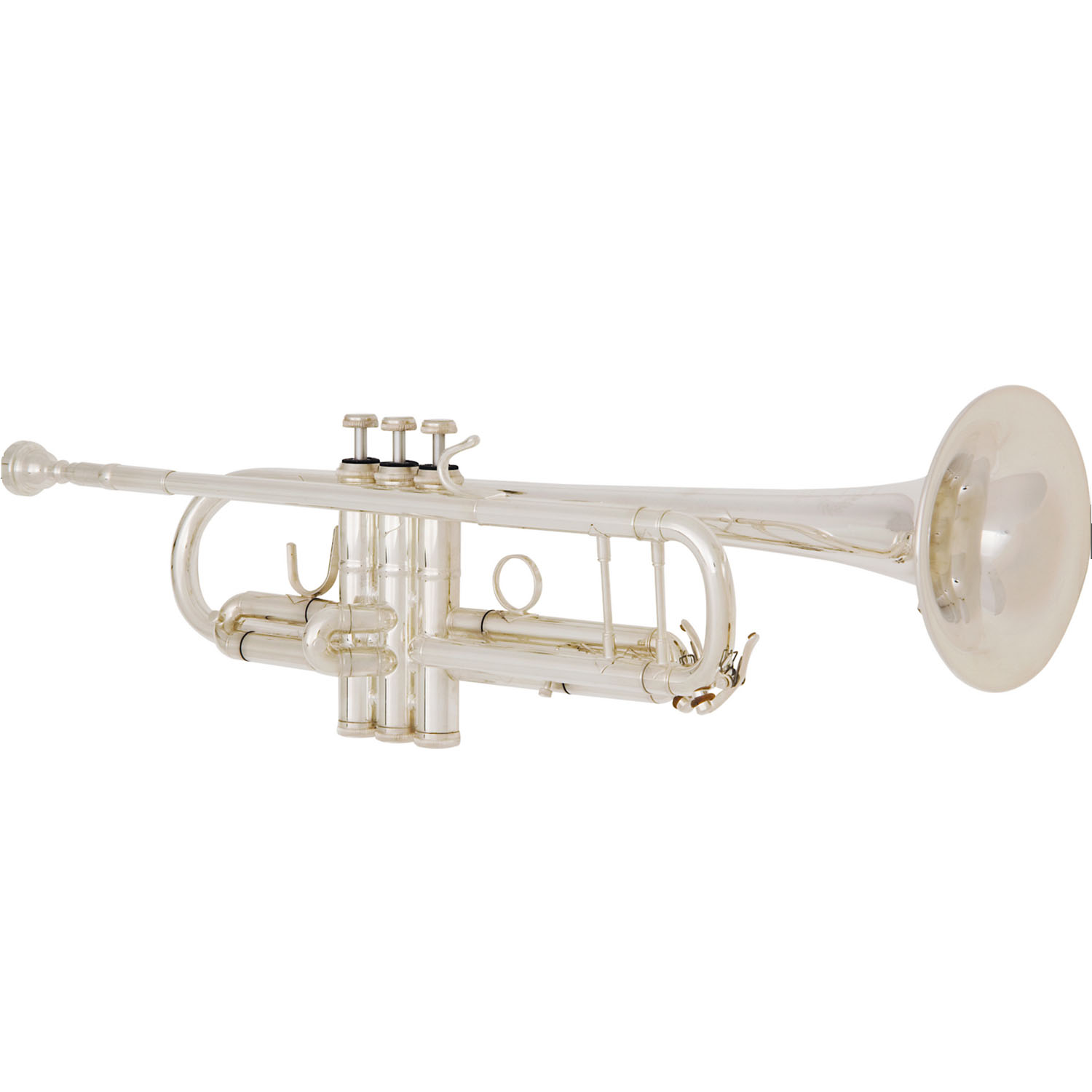 "B&S ""Custom Challenger II"" Professional Bb Trumpet - #43 Bell - Silver Plating"