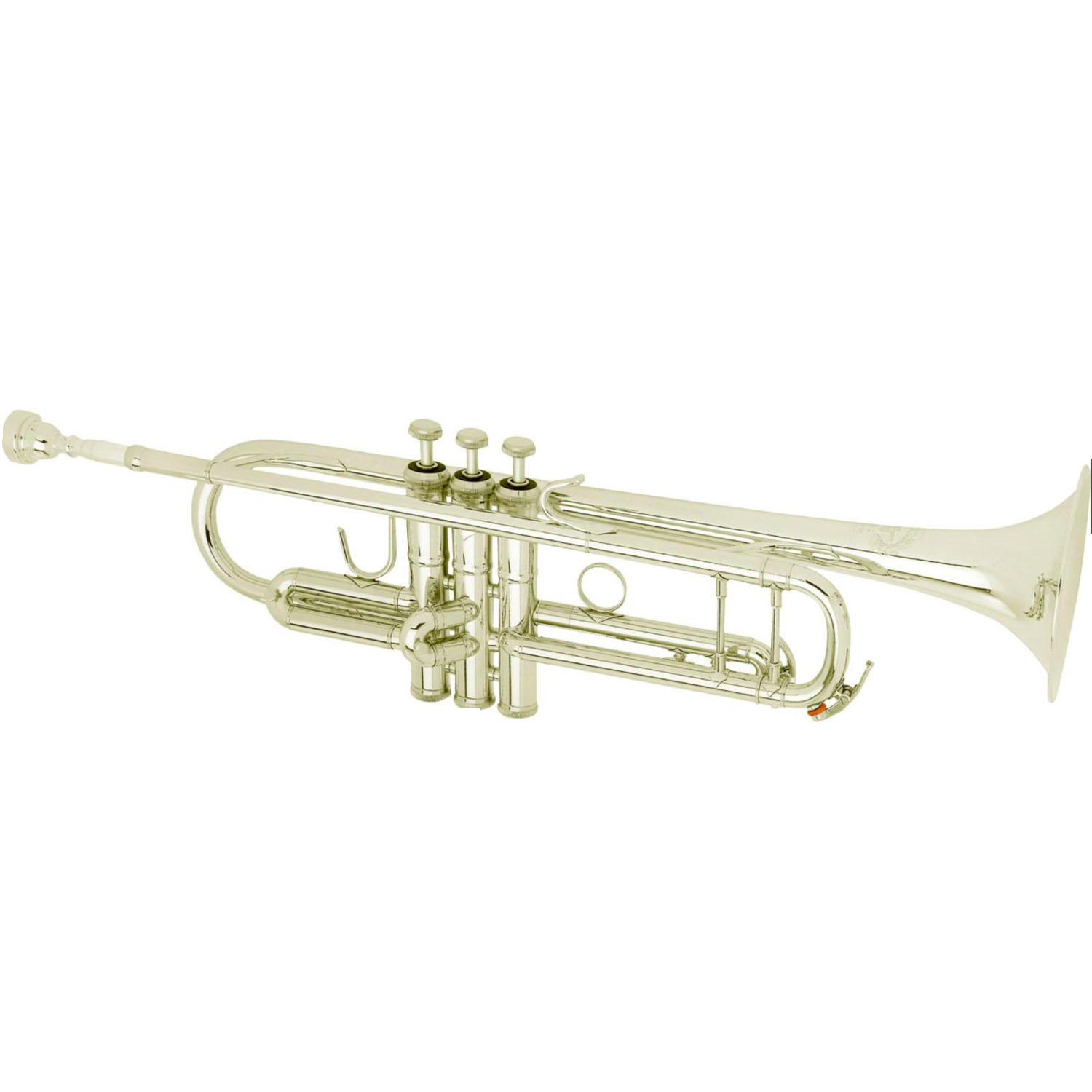 "B&S ""Custom Challenger II"" Professional Bb Trumpet - #37 Bell - Silver Plating"