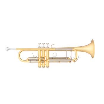 "B&S ""Custom Challenger II"" Professional Bb Trumpet - #37 Bell - Elaboration Finish"