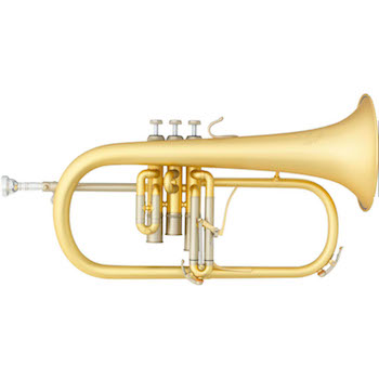 "B&S ""Challenger II"" Professional Flugelhorn - Elaboration Finish"