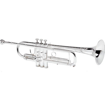 "B&S ""X-Series"" Professional Trumpet - Chris Jades Model JBX - Silver Plating"