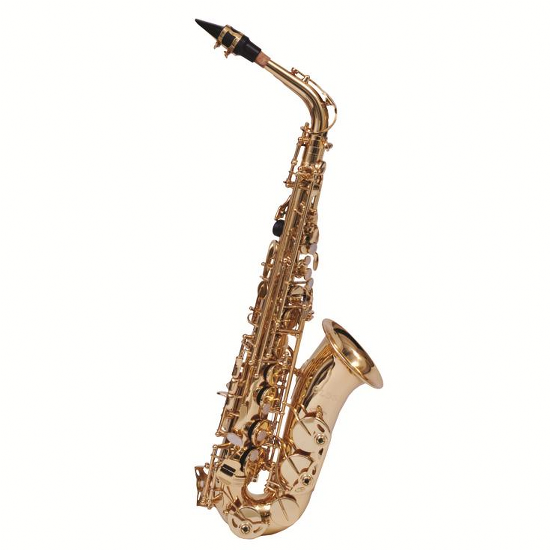 FE Olds Student Alto Saxophone - Gold Lacquer Keys