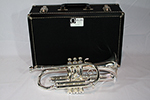 F.E. Olds Semi Pro Cornet, Silver Plated - NP6MST