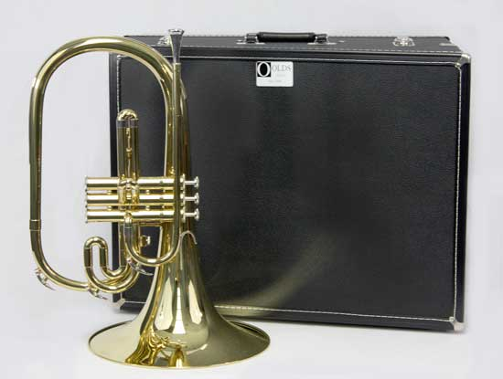 F.E. Olds Marching French Horn