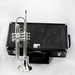 F.E. Olds Trumpet - Silver Plated