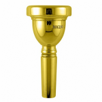 Bach Gold-Plated Large Shank Trombone Mouthpieces