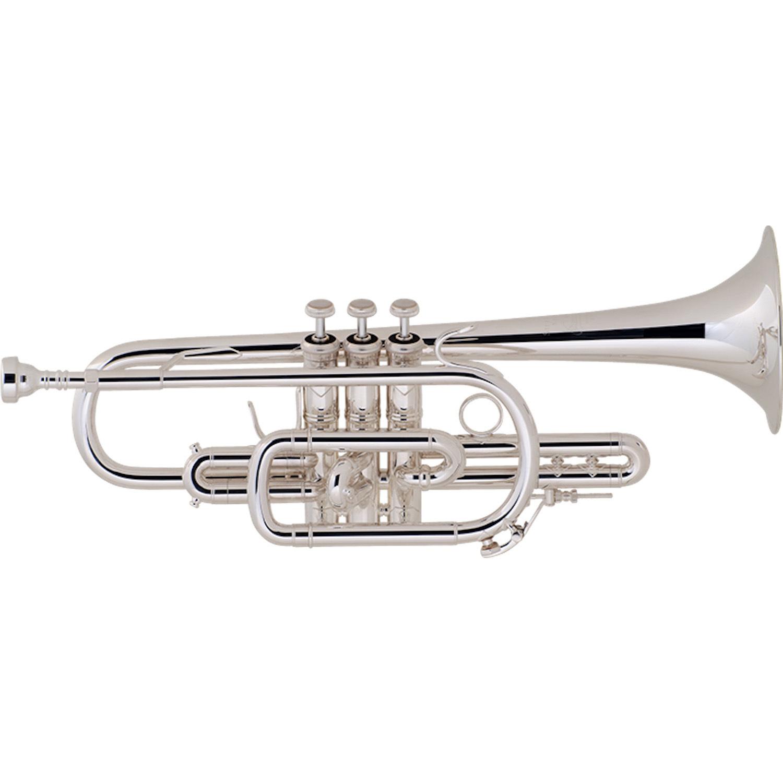 Bach Stradivarius Cornet - Silver Plate