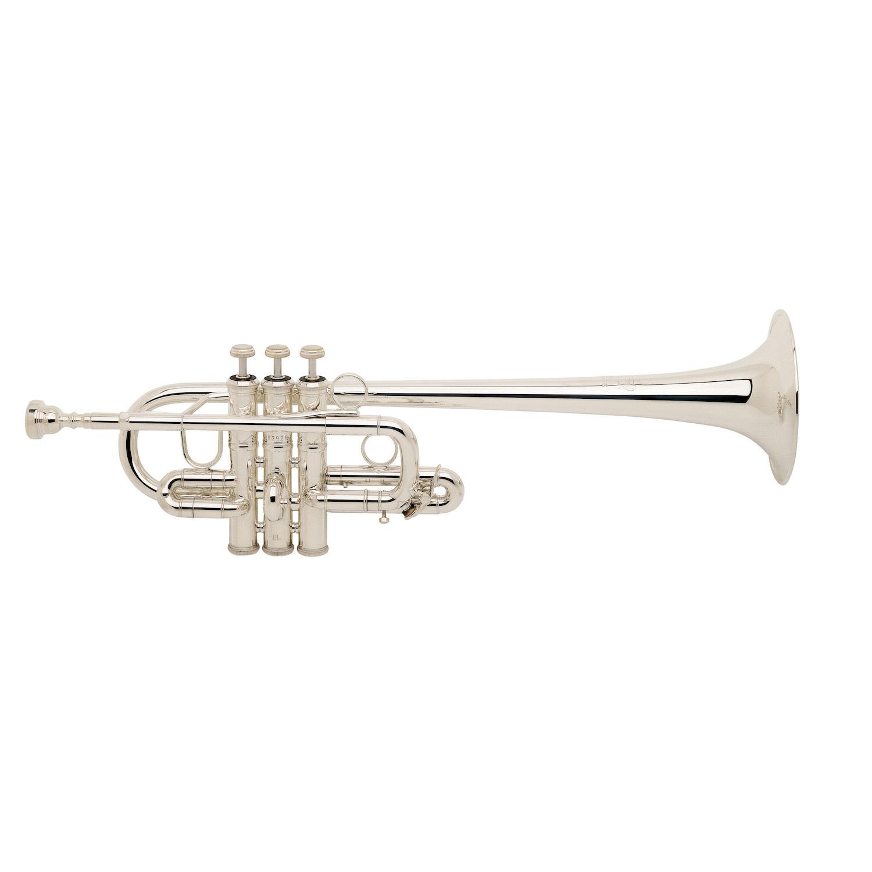 Bach Stradivarius Eb/D Trumpet - Silver Finish
