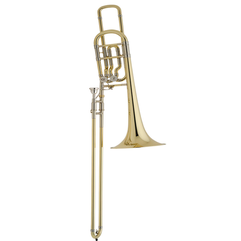 Bach Stradivarius Large Bell 50B2LO Bass Trombone - Open Wrap
