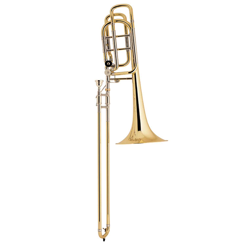 Bach Stradivarius Large Bell 50B3LO Bass Trombone - Open Wrap