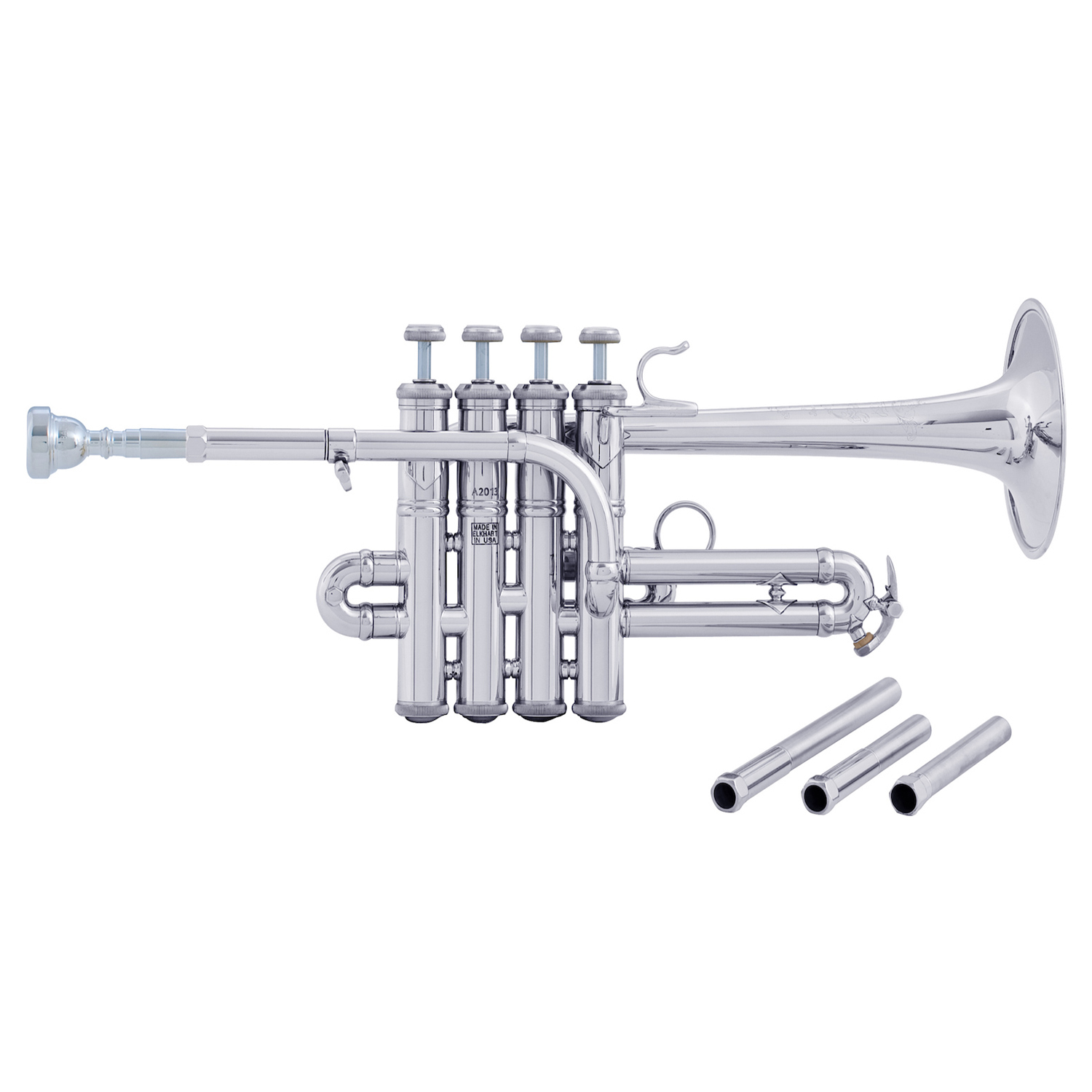 "Bach Stradivarius ""Artisan Collection"" Piccolo Trumpet - Silver Plating"