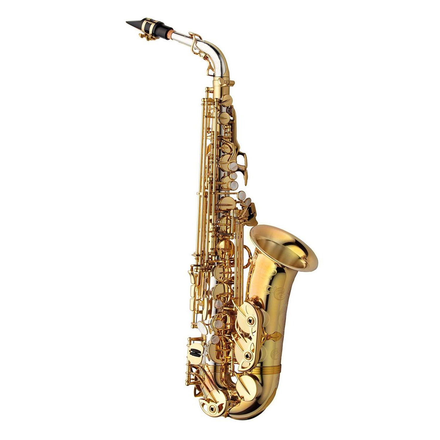 Yanagisawa WO Series Elite Alto Saxophone - Sterling Silver Body and Neck