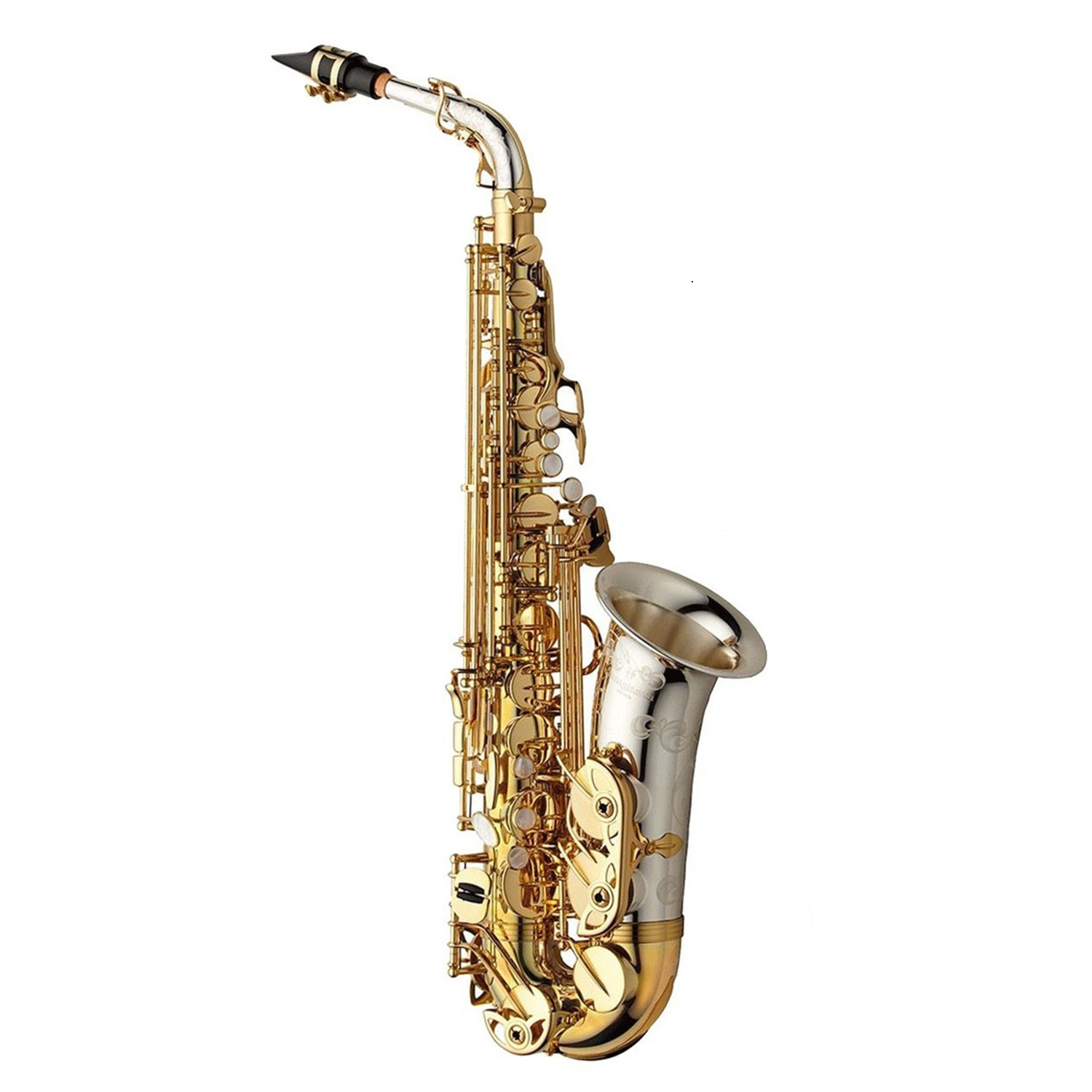 Yanagisawa WO Series Elite Alto Saxophone - Sterling Silver Bell and Neck