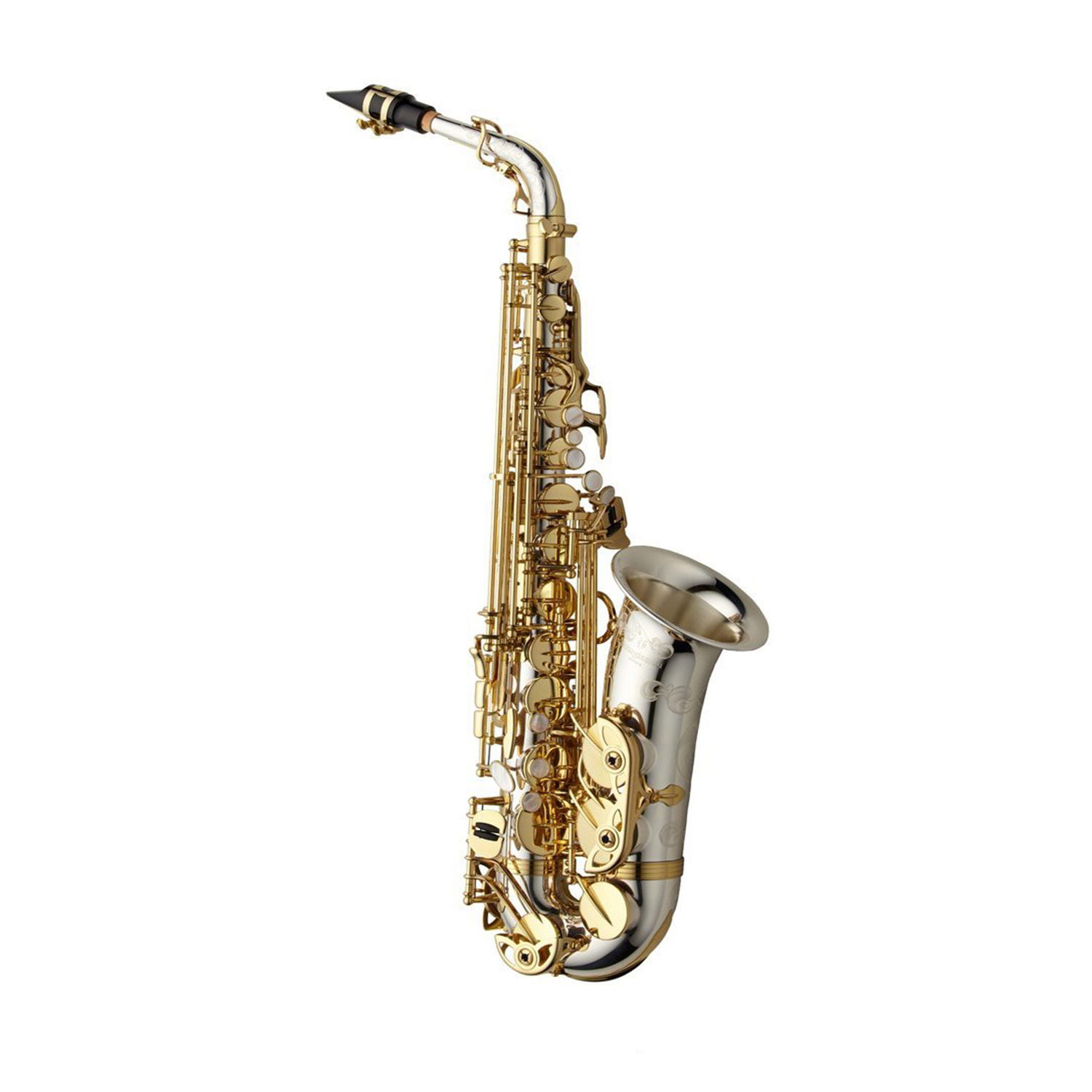 Yanagisawa WO Series Elite Alto Saxophone - Sterling Silver Body, Bell and Neck