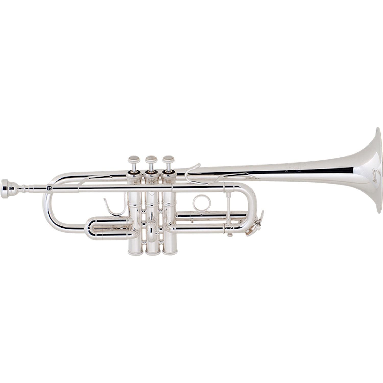 Bach Stradivarius C Trumpet - Silver Plating