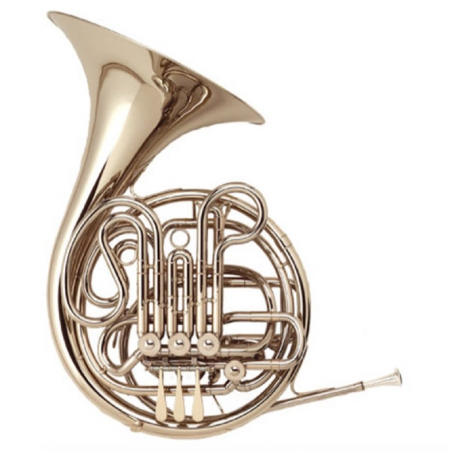 Antigua Double French Horn - ABS Case