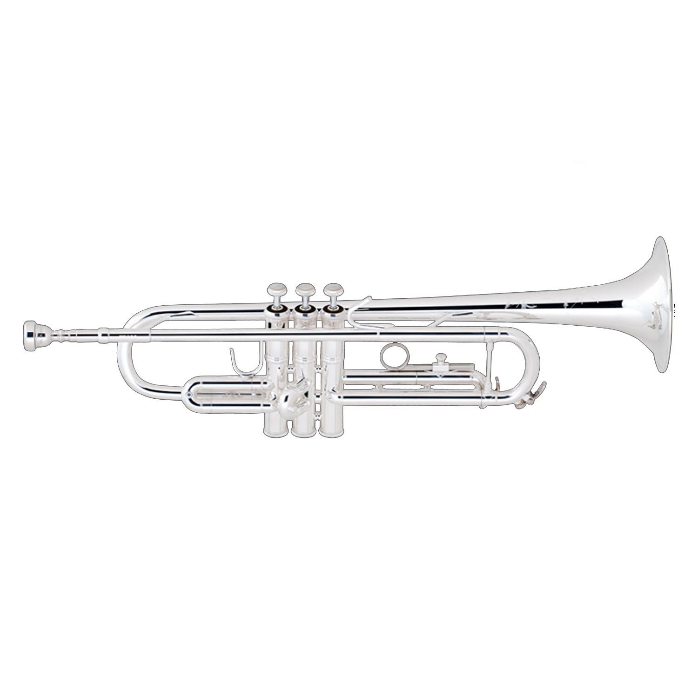 Bach Intermediate Bb Trumpet - Silver Finish