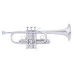 "Bach Stradivarius ""Artisan Collection"" Eb Trumpet - Silver Plating"