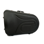 Hiscox Euphonium Case - Black Exterior with Blue Interior