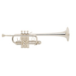Bach Stradivarius D Trumpet - Large Bore/Silver Plating