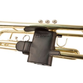 Pro Tec Leather Trumpet Valve Guard - 6 Point Coverage