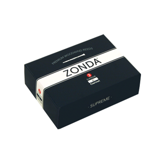 Zonda Supreme Bb Clarinet Reeds - Box of 5