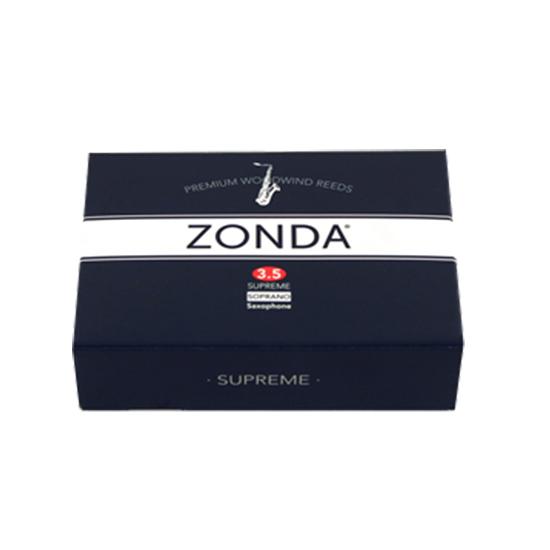 Zonda Supreme Soprano Saxophone Reeds - Box of 5