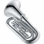 Jupiter Deluxe 3/4 Size BBb Tuba [Silver-Plated]