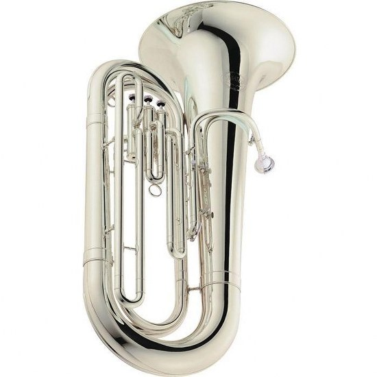 Jupiter Deluxe BBb Tuba [Silver-Plated]