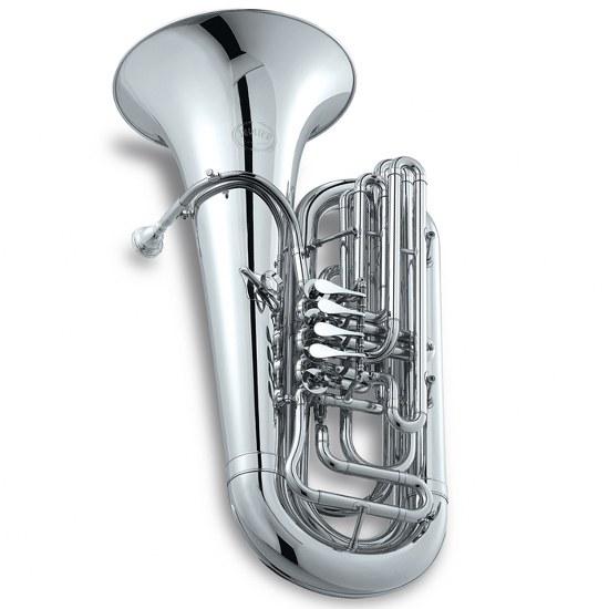 Jupiter Performance 4 Valve Rotary Valve BBb Tuba [Silver-Plated] + $300 GIFT CARD