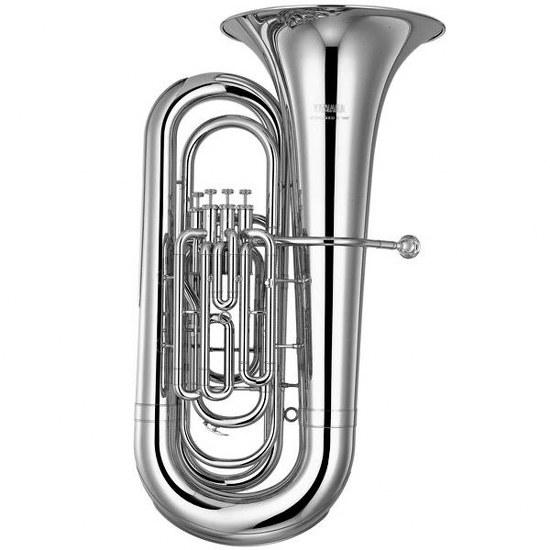 Yamaha Intermediate BBb Tuba - Silver Plating with Case