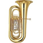 Yamaha Intermediate BBb Tuba with Case