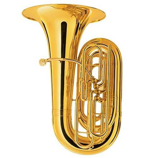 King BBb 4 Valve Tuba [Hardshell Case]