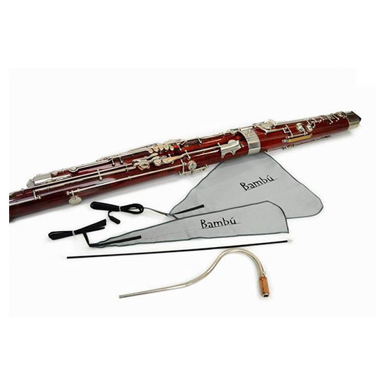 Bambu Bassoon Swab Kit - Includes Body Swabs and Bocal Brush