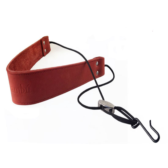 Bambu Double Leather Neck Strap for Tenor/Baritone Saxophone - Multiple Colors!