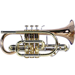 Besson Sovereign Professional Bb Cornet - Lacquer Finish