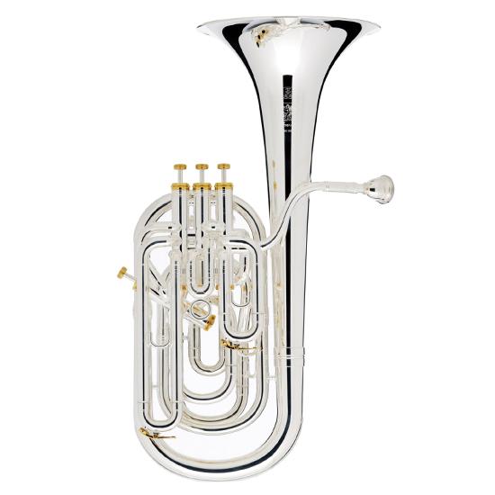 Besson Prestige Baritone Horn - Silver Plating