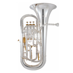 "Besson Prestige 11"" Bell Professional Euphonium - Silver Plating"