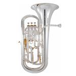 "Besson Prestige 12"" Bell Professional Euphonium - Silver Plating"
