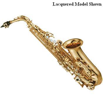 Yamaha Custom Z Alto Saxophone - Unlacquered - Newly Redesigned
