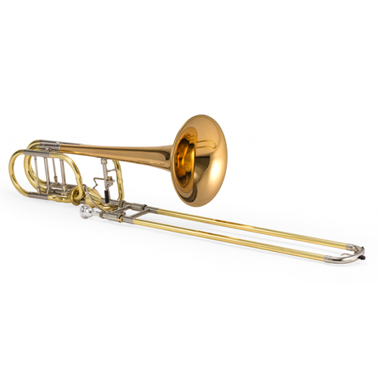 Jupiter XO Professional Bass Trombone - Dual Independent Thru-Flow Rotors - Rose Brass Bell + $200 GIFT CARD