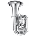 Jupiter XO Professional CC Tuba - Silver Plating + $300 GIFT CARD