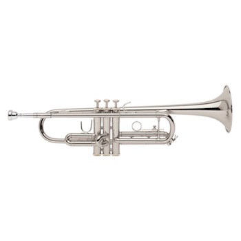Bach TR300H2S Standard Trumpet - Silver Plating
