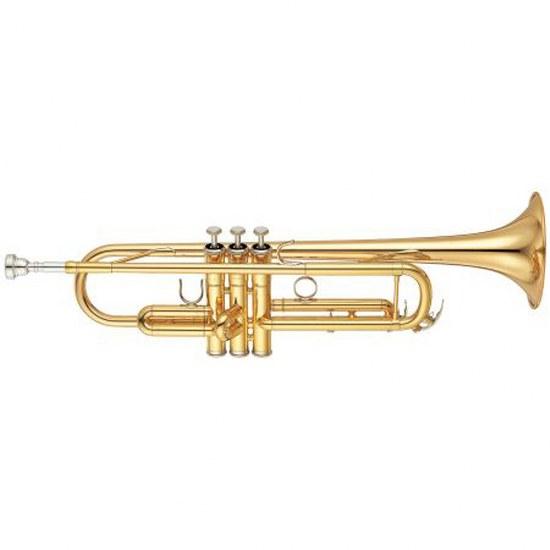 Yamaha Intermediate Trumpet - Gold Brass Bell
