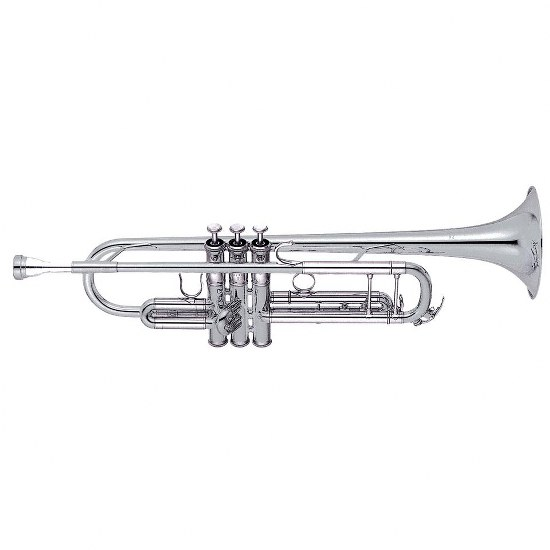 Yamaha Professional Trumpet [Gold-Brass Bell/Silver Finish]