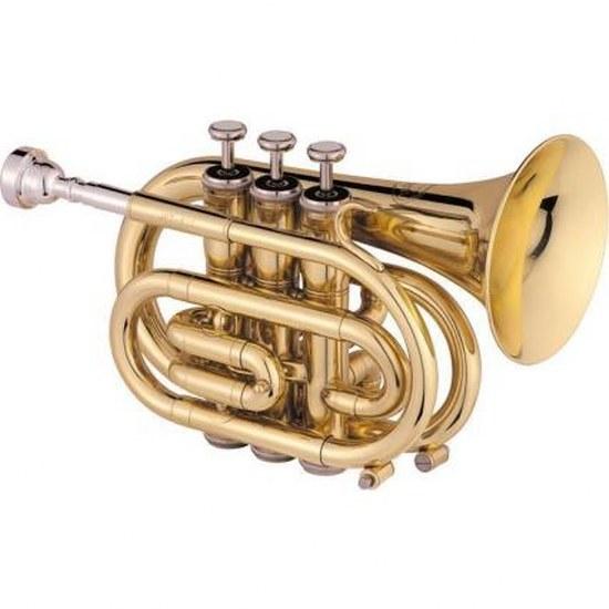 Jupiter Deluxe Bb Pocket Trumpets