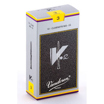 Vandoren V12 Eb Clarinet Reeds (10 per box)