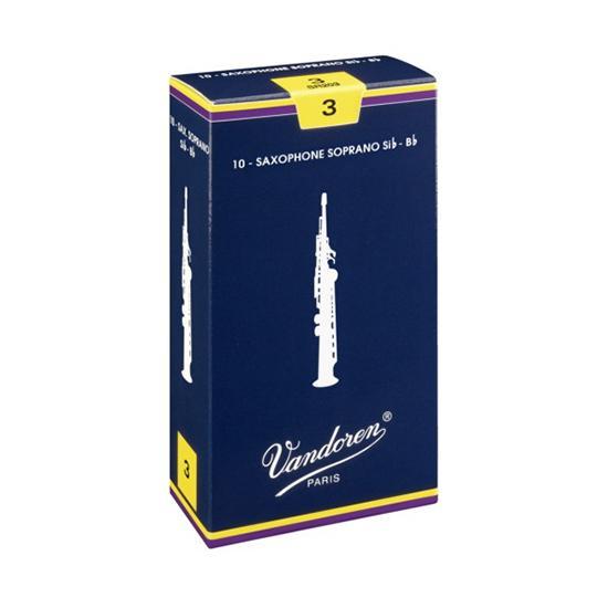 Vandoren Traditional Soprano Sax Reeds (10 per box)
